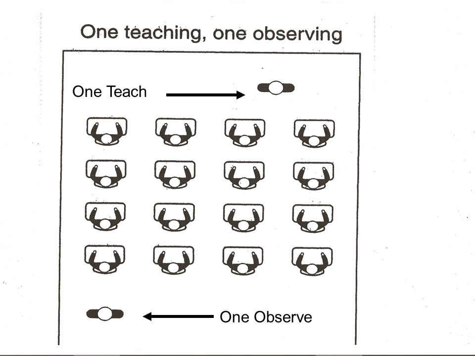One Teach One Observe
