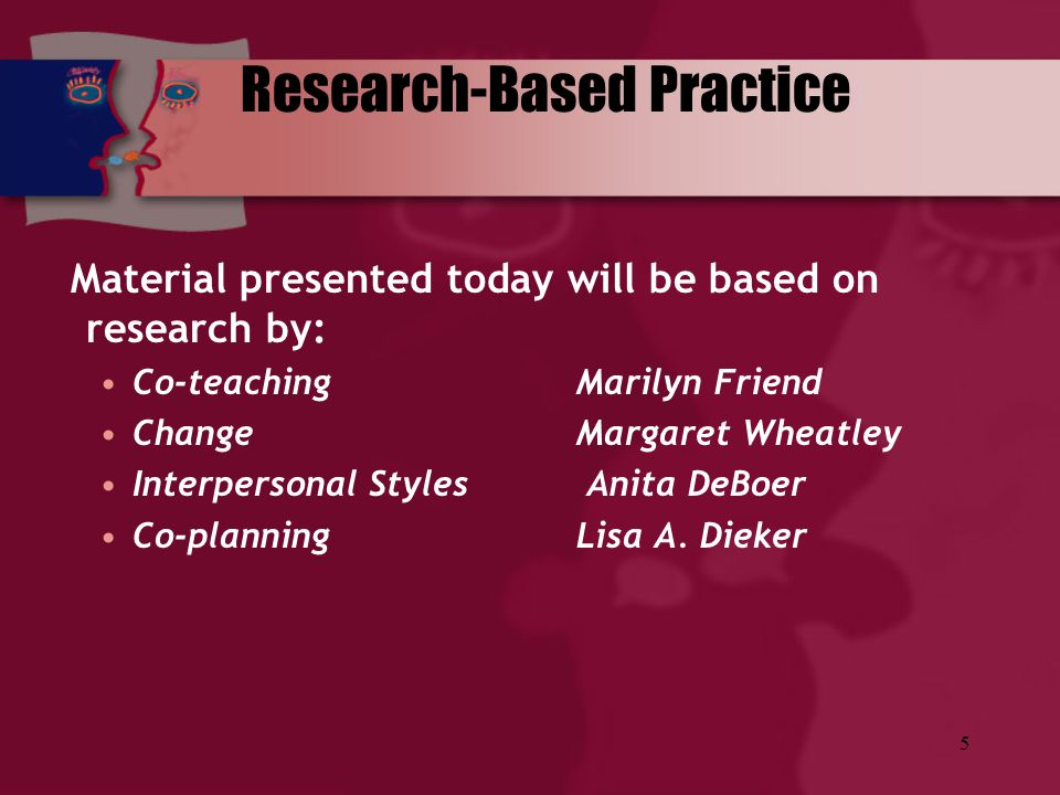 Research-Based Practice