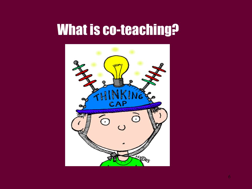 What is co-teaching ACTIVITY – Table tents or turn to partner