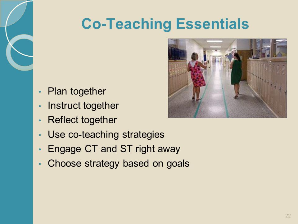 Co-Teaching Essentials