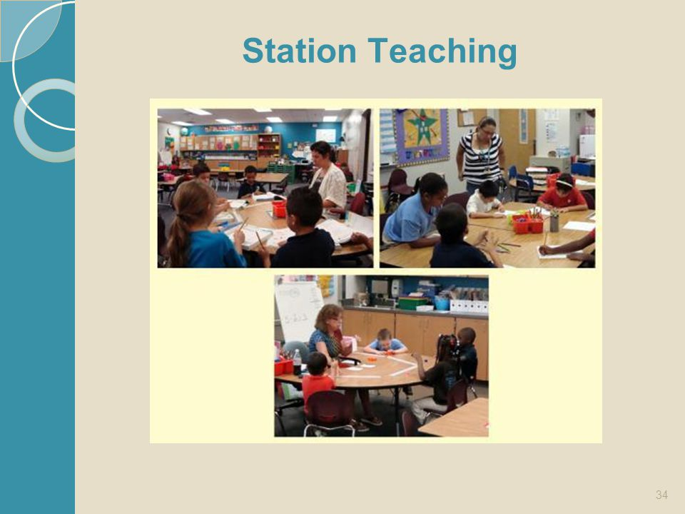 Station Teaching Picture from: http://cpt.fsu.edu/Research_Centers/CRSRL/Florida_Inclusion_Network/Spotlights/FallWinter_2011_708.aspx.
