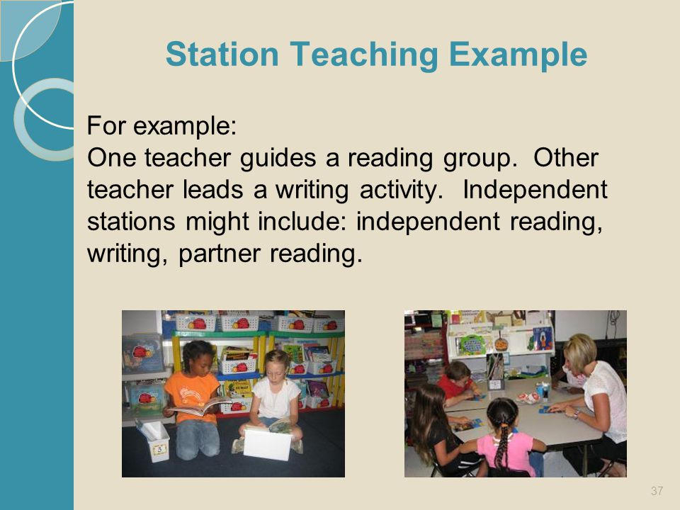 Station Teaching Example