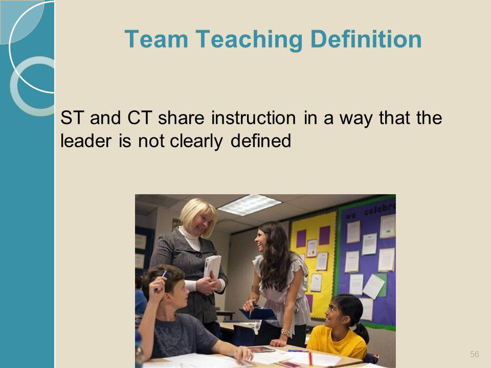 Team Teaching Definition