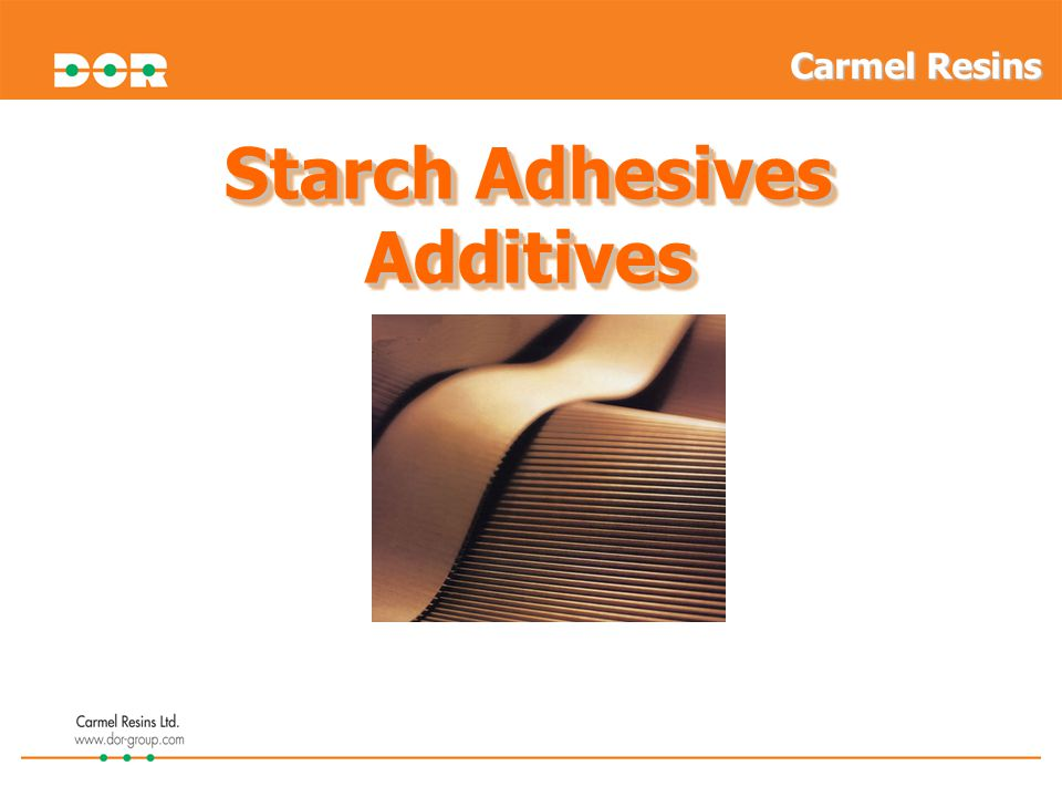 Starch Adhesives Additives
