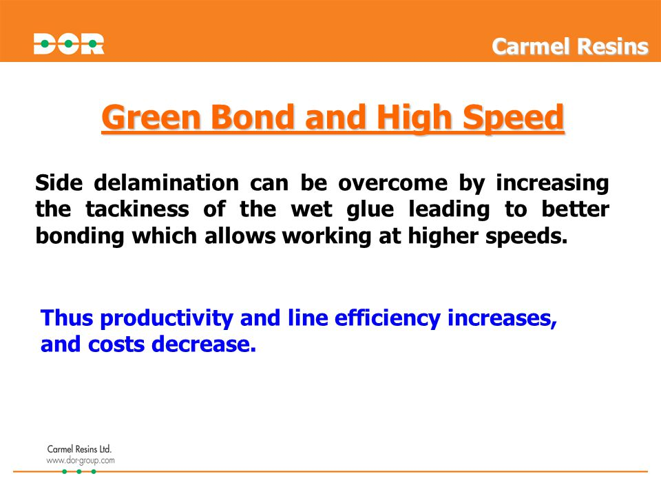 Green Bond and High Speed