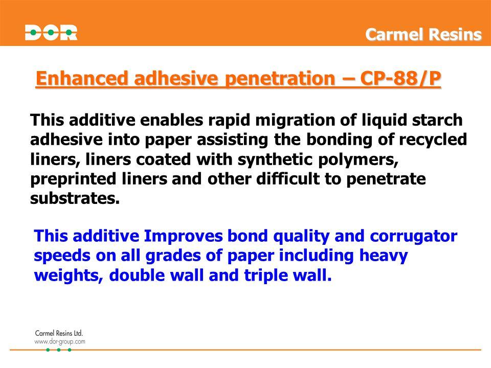 Enhanced adhesive penetration – CP-88/P
