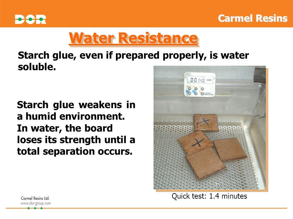 Water Resistance Carmel Resins