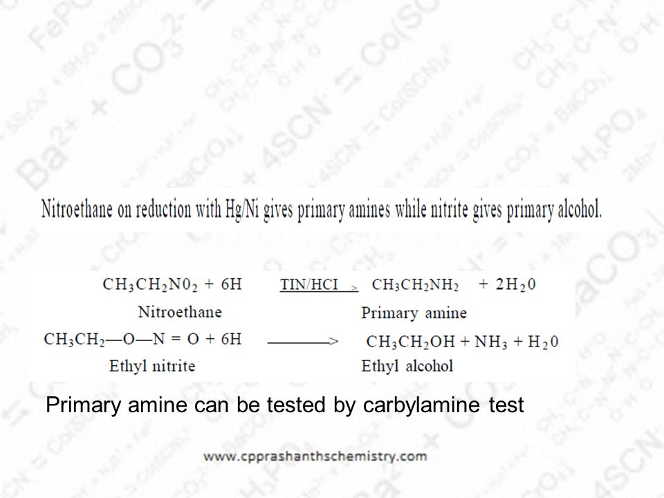 Primary amine can be tested by carbylamine test