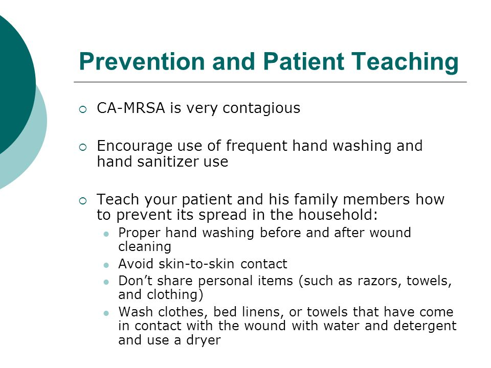 Prevention and Patient Teaching