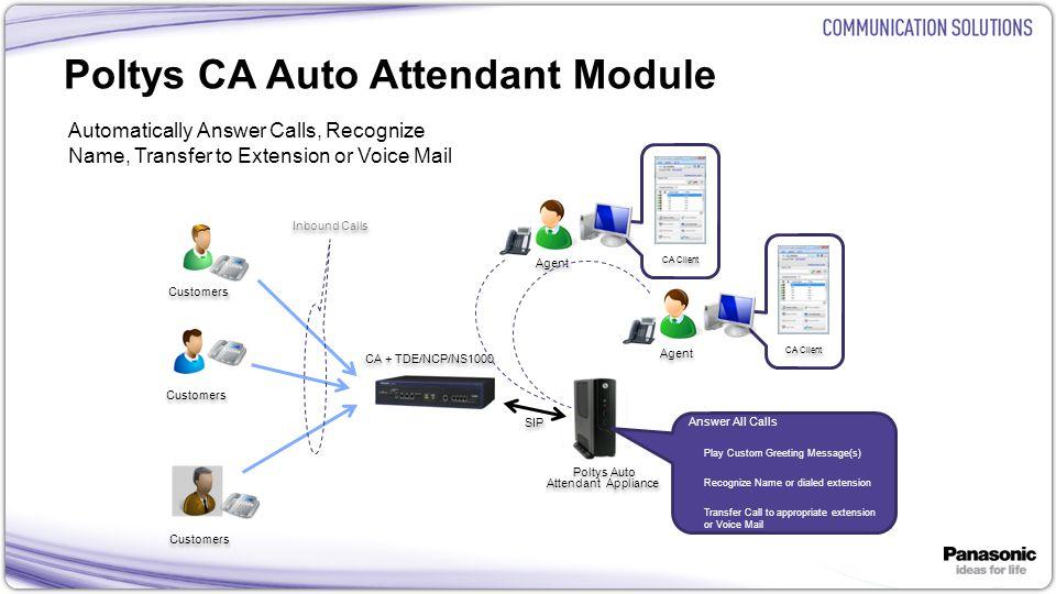 Poltys CA Auto Attendant Module