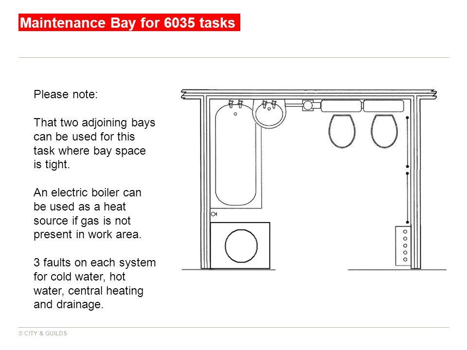 Maintenance Bay for 6035 tasks