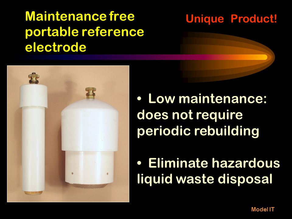 Maintenance free portable reference electrode
