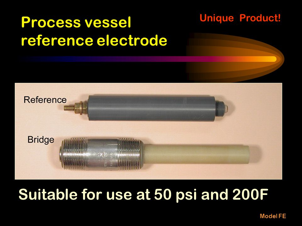 Process vessel reference electrode
