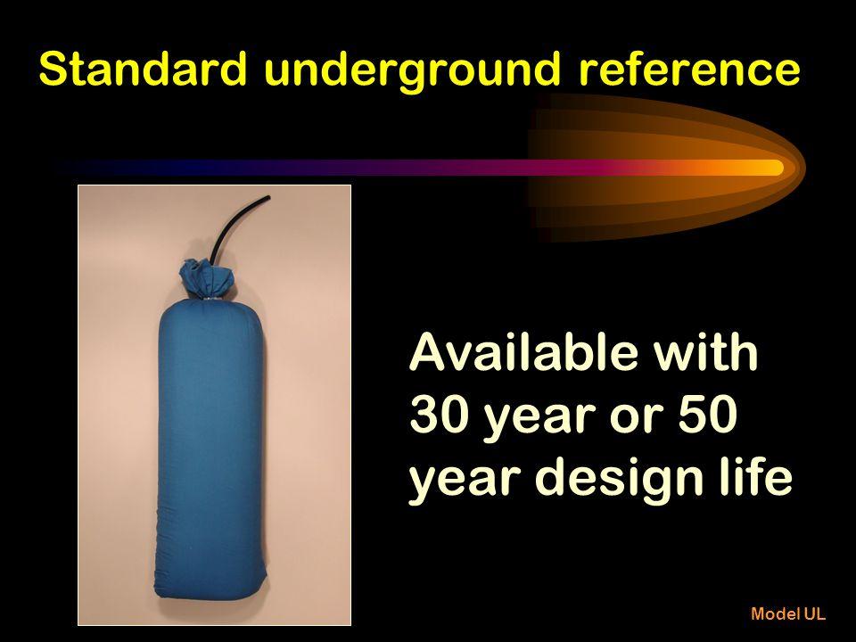 Standard underground reference