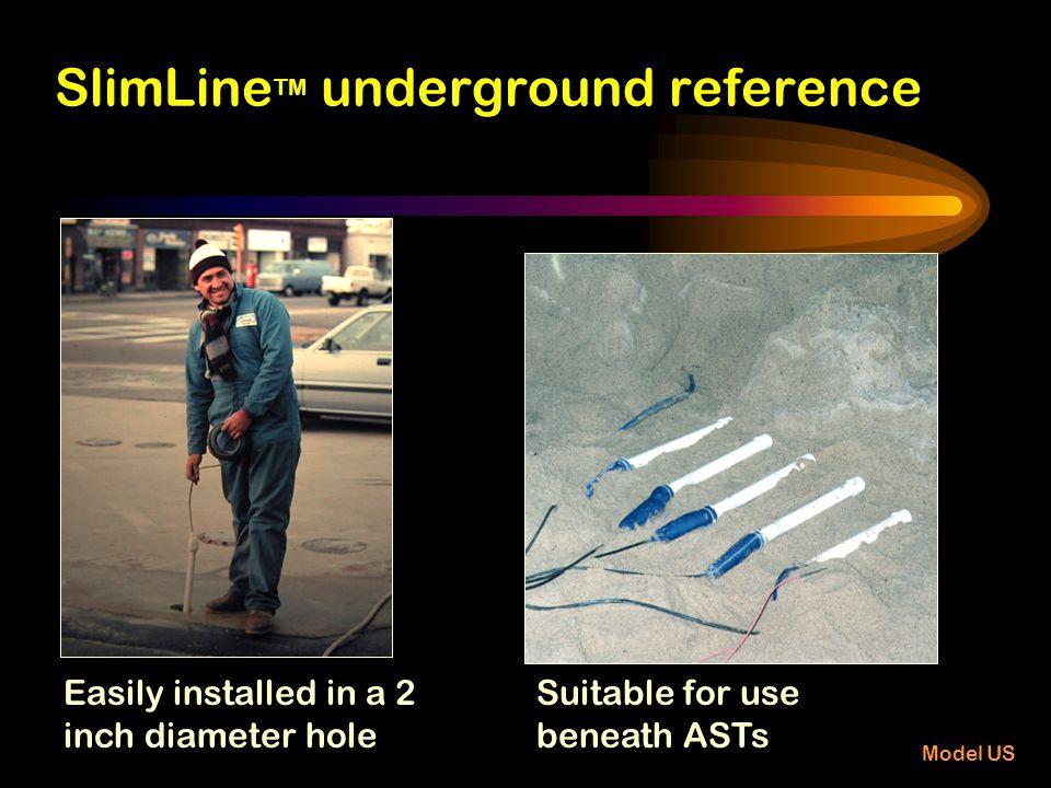 SlimLineTM underground reference