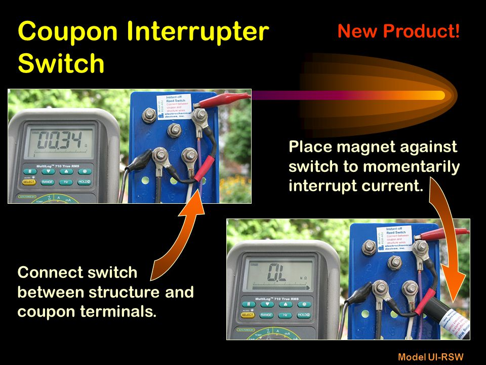 Coupon Interrupter Switch