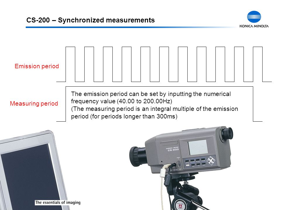 CS-200 – Synchronized measurements