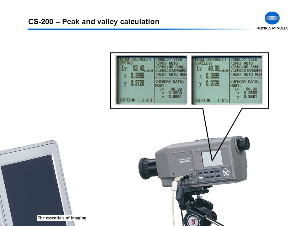 CS-200 – Peak and valley calculation