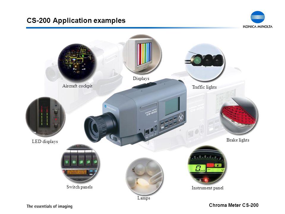 CS-200 Application examples