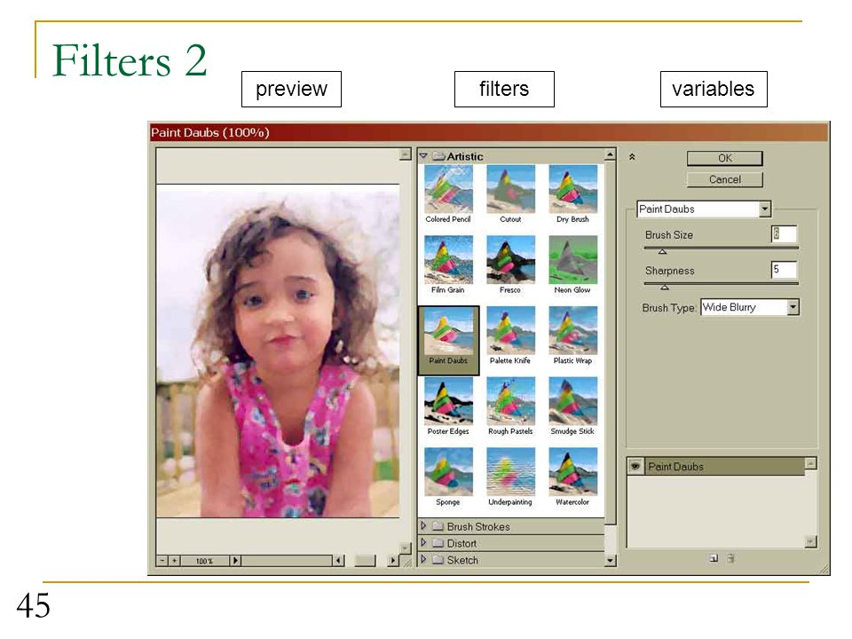 Filters 2 preview filters variables Use shay pic – let them play