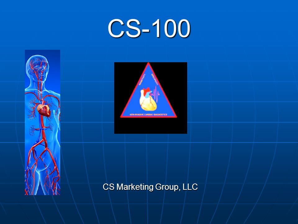 CS-100 CS Marketing Group, LLC
