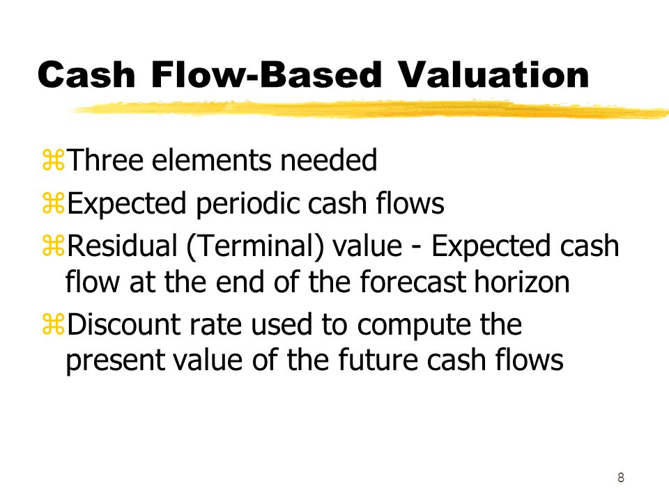 Cash Flow-Based Valuation