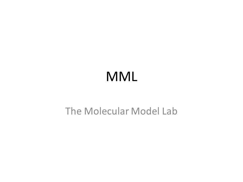 The Molecular Model Lab