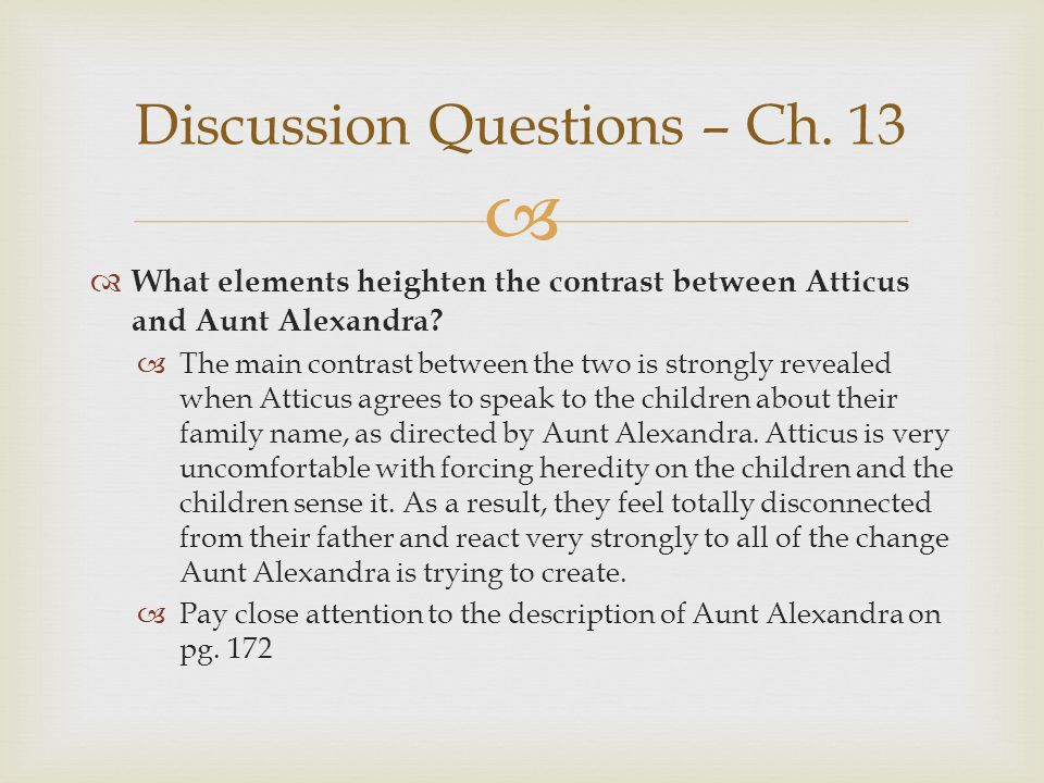 Discussion Questions – Ch. 13