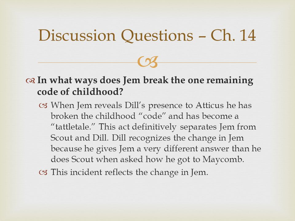 Discussion Questions – Ch. 14