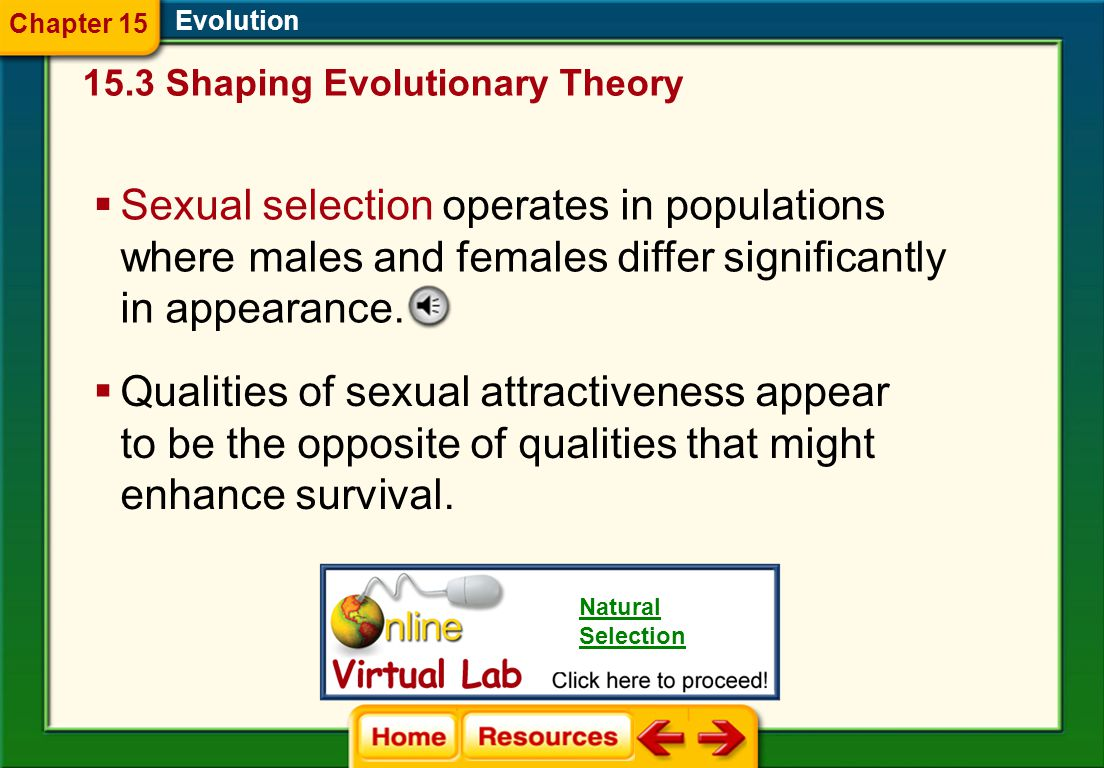 Chapter 15 Evolution. 15.3 Shaping Evolutionary Theory.
