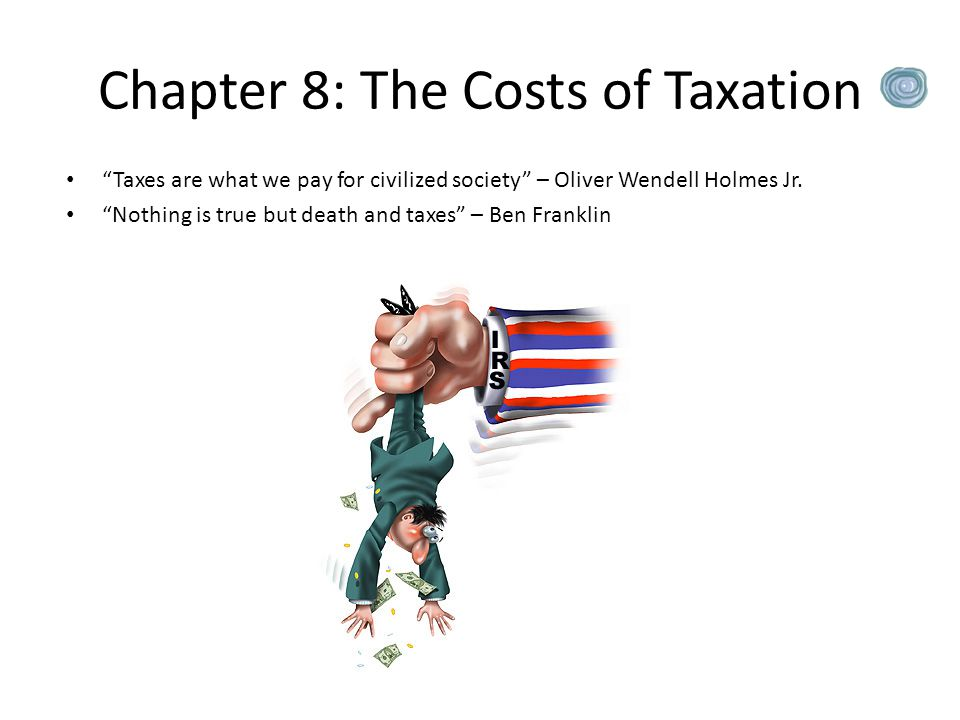 Chapter 8: The Costs of Taxation