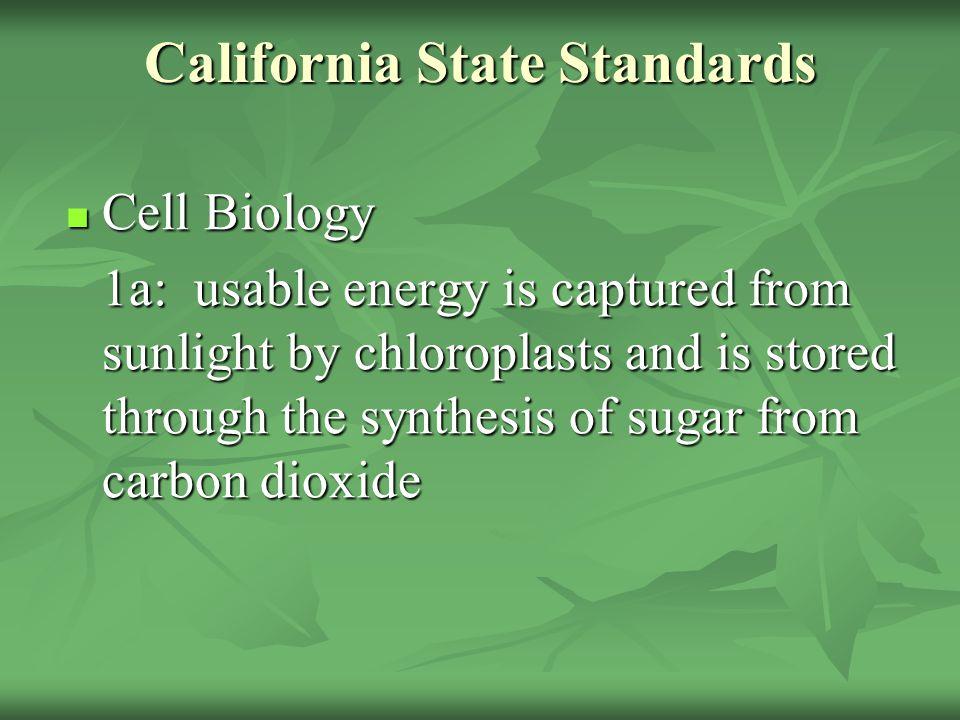 California State Standards