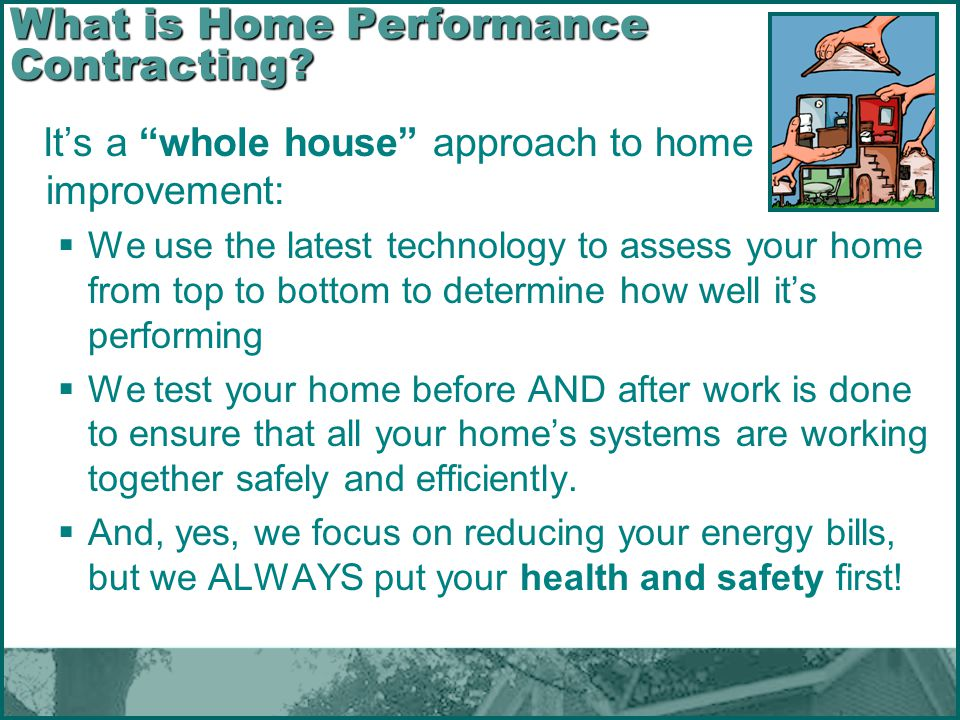 What is Home Performance Contracting
