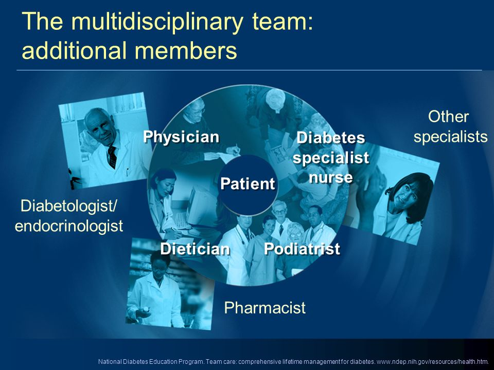 The multidisciplinary team: additional members