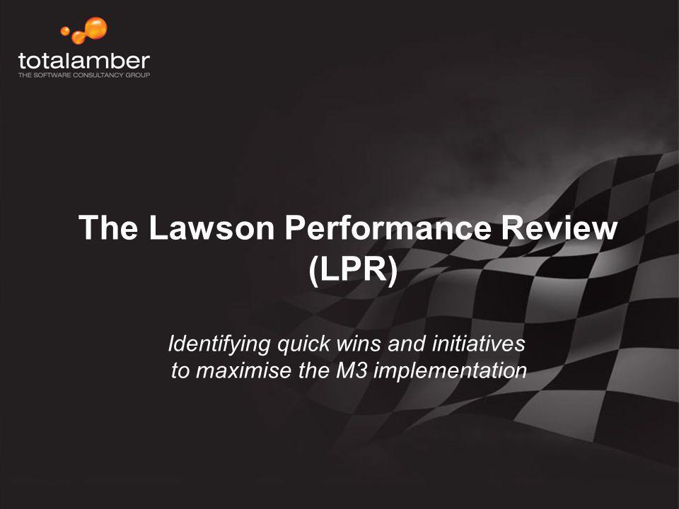 The Lawson Performance Review