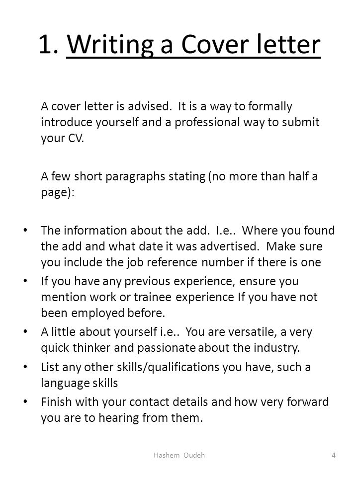 What Is the Proper Way to Write a Letter Introducing Yourself?