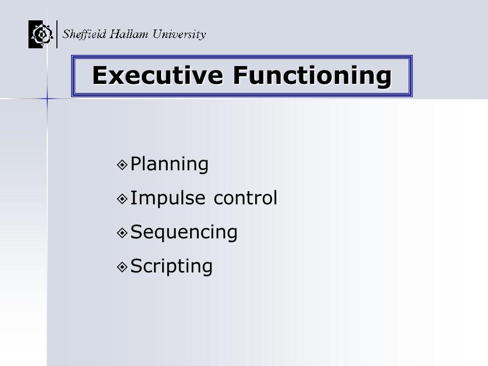 Executive Functioning