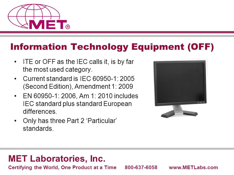 Information Technology Equipment (OFF)