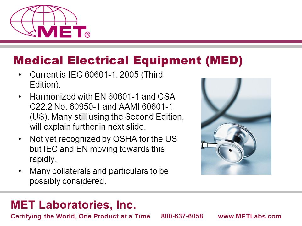 Medical Electrical Equipment (MED)