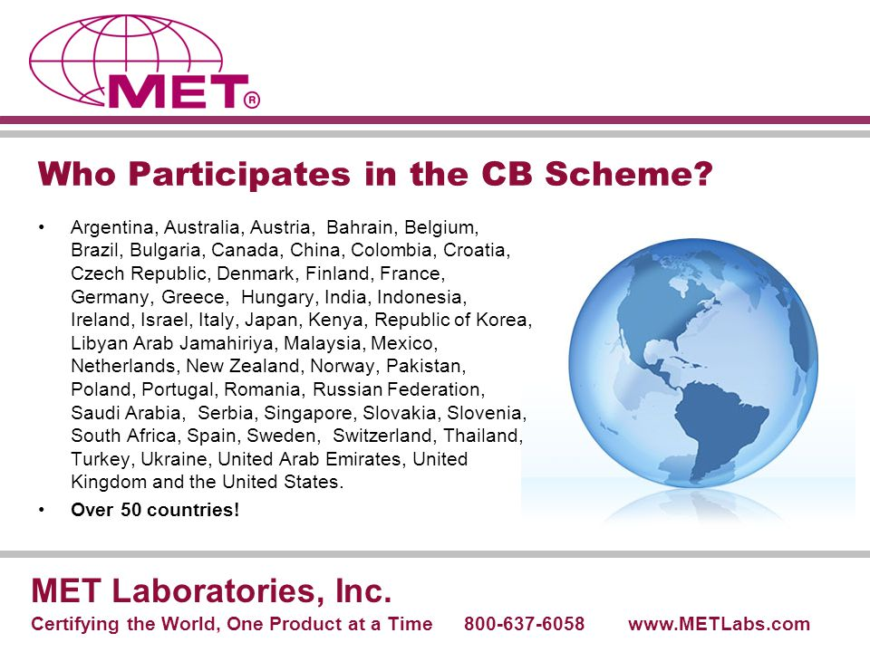 Who Participates in the CB Scheme