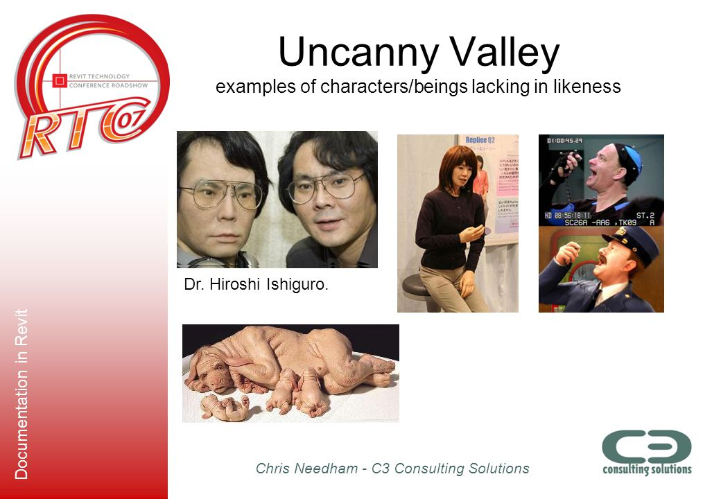 Uncanny Valley examples of characters/beings lacking in likeness