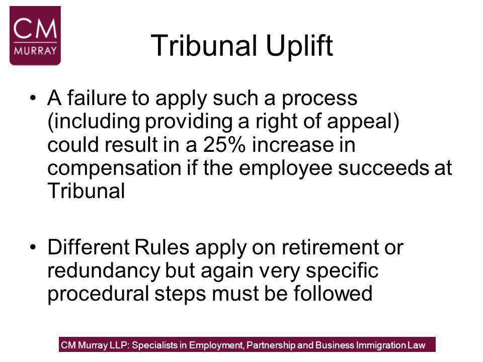 Tribunal Uplift