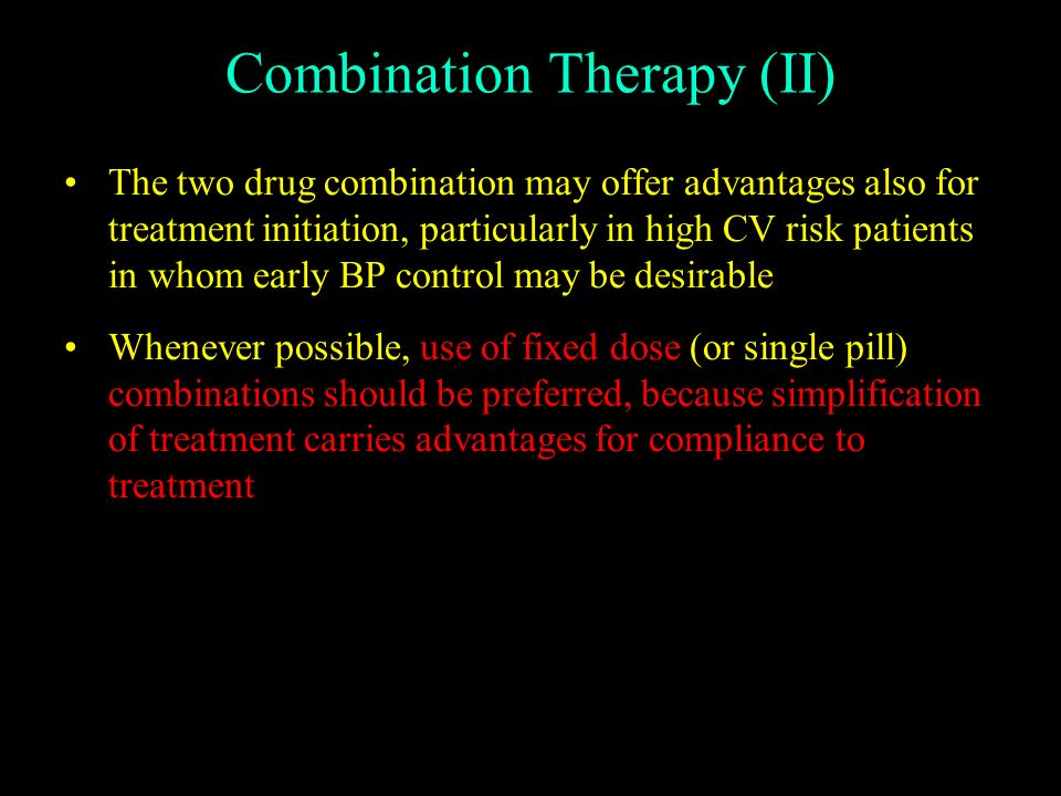 Combination Therapy (II)