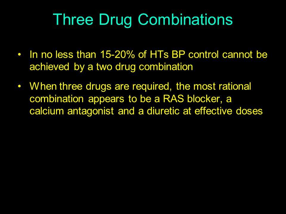 Three Drug Combinations