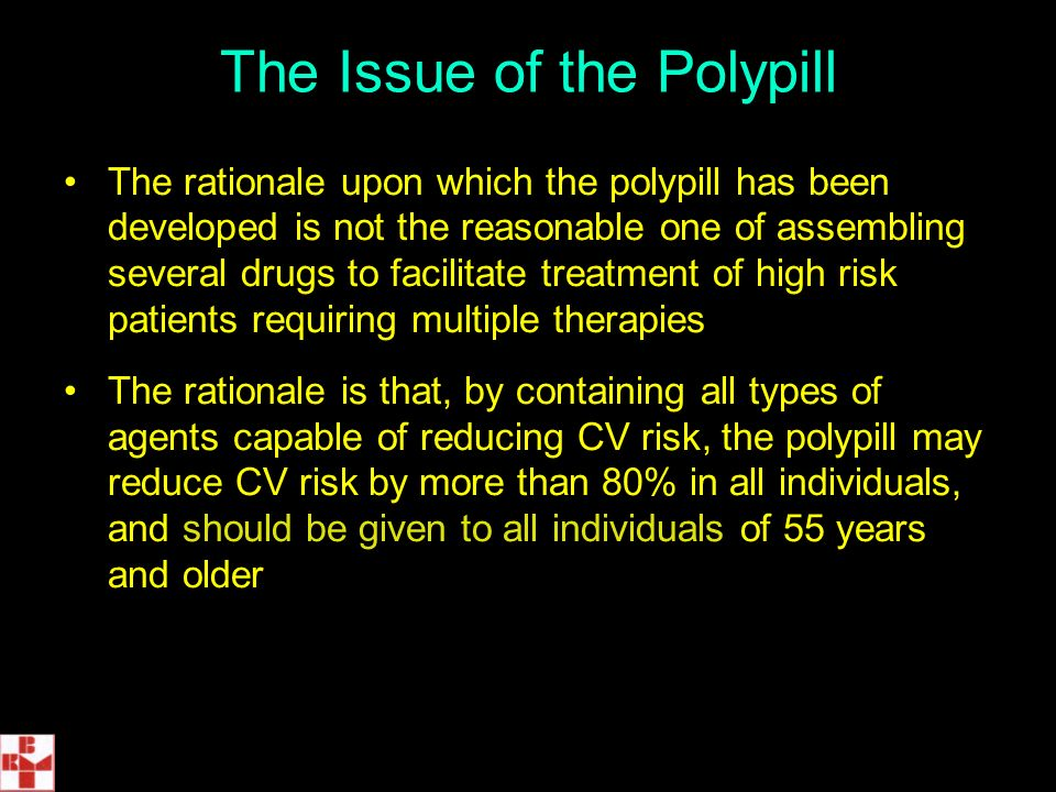 The Issue of the Polypill