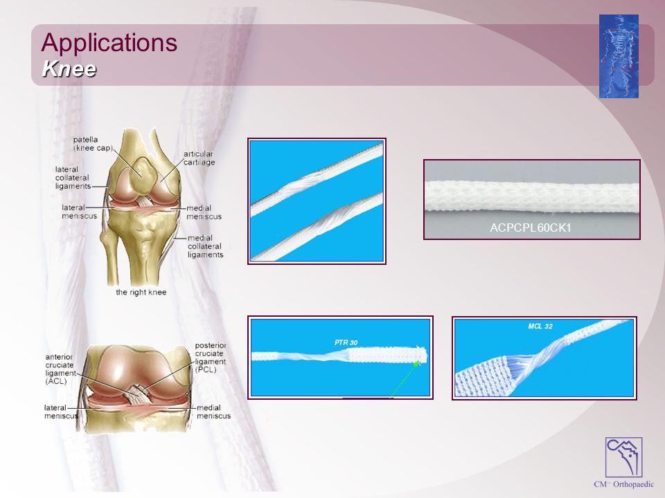 Applications Knee ACPCPL 60CK1