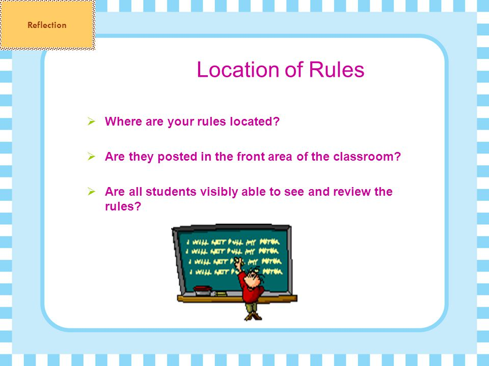 Location of Rules Where are your rules located