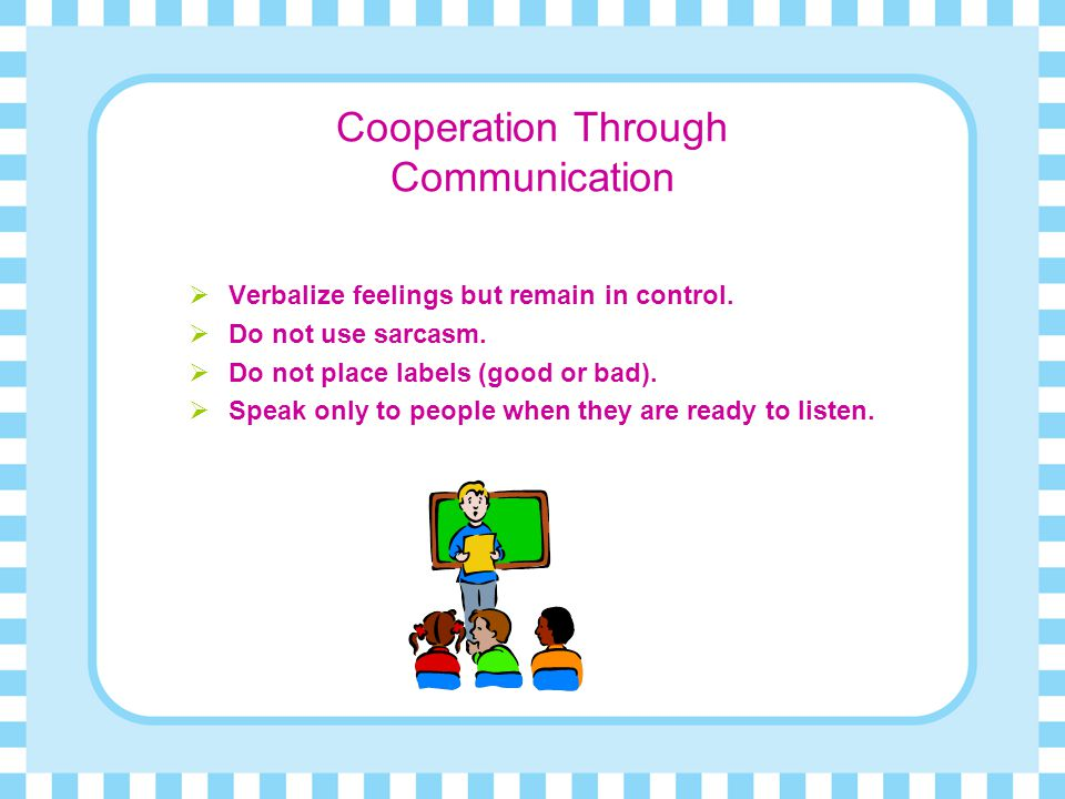 Cooperation Through Communication