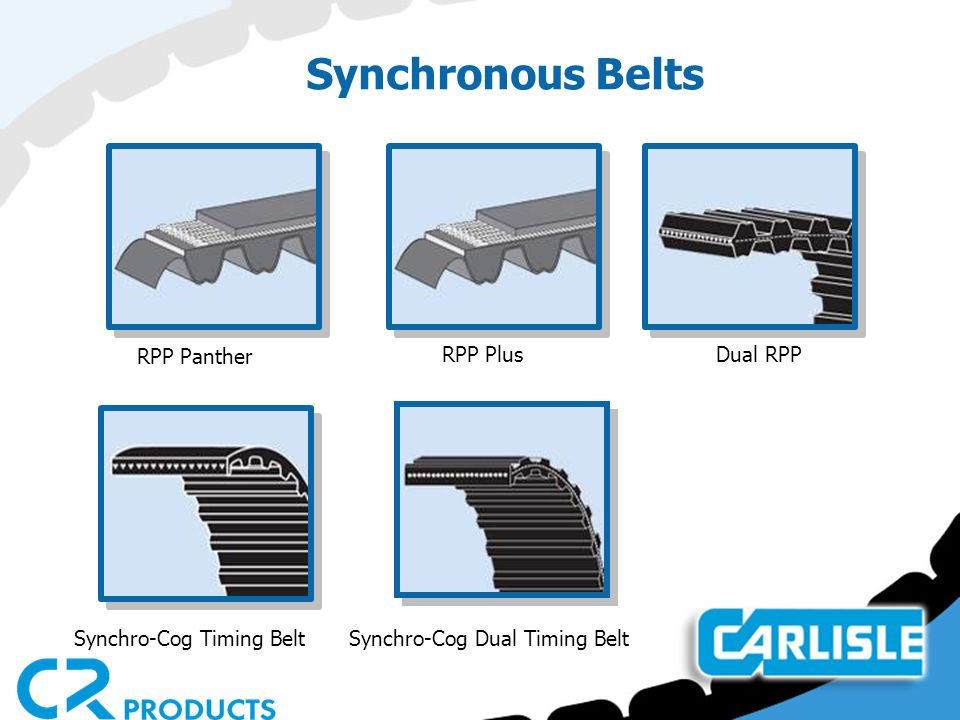 Synchronous Belts RPP Panther RPP Plus Dual RPP
