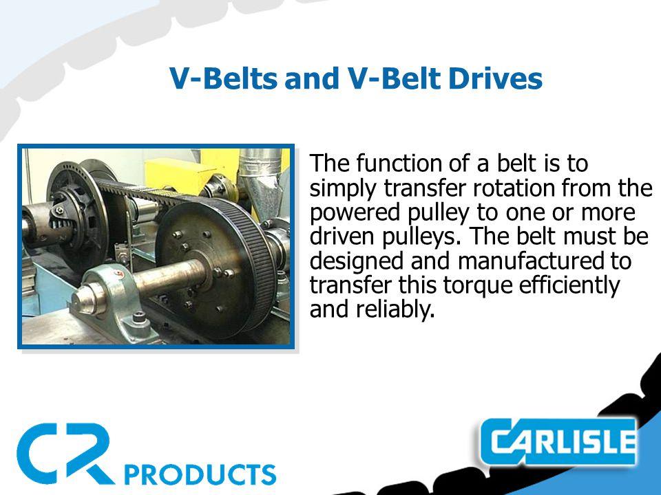 V-Belts and V-Belt Drives
